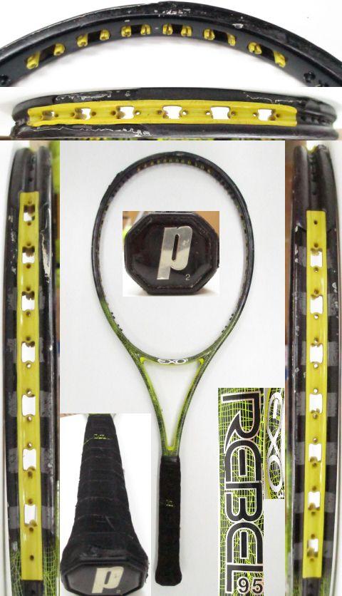 【中古 テニスラケット】P0677 プリンス EXO3レベル95