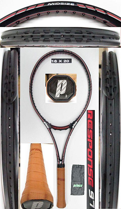 【中古 テニスラケット】P0679 プリンス クラシックレスポンス97