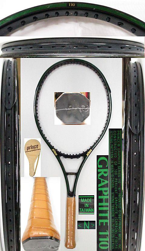 【中古 テニスラケット】P0684 プリンス グラファイト110【TAIWANN】