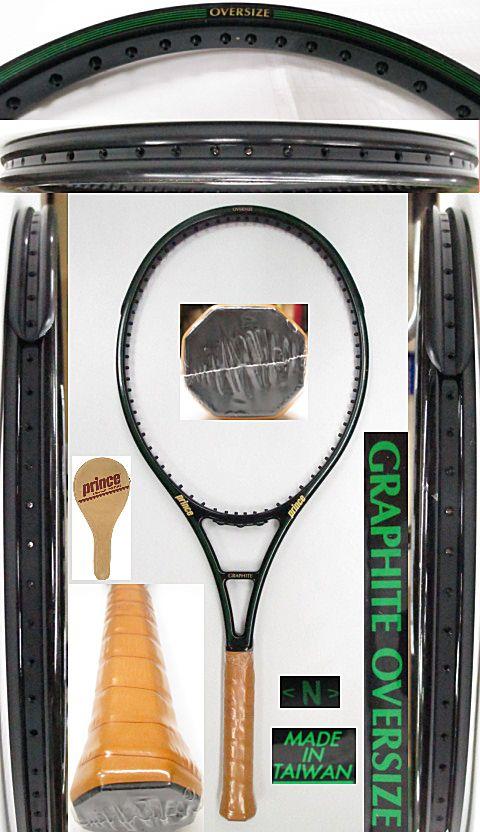 【中古 テニスラケット】P0686 プリンス グラファイト オーバーサイズ【TAIWAN】