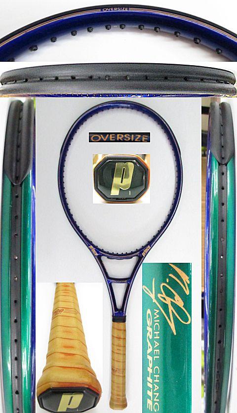 【中古 テニスラケット】P0691 プリンス マイケルチャングラファイト オーバーサイズ