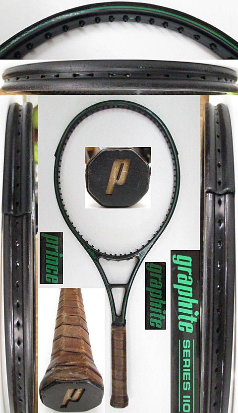 【中古 テニスラケット】P0697 プリンス グラファイト シリーズ110