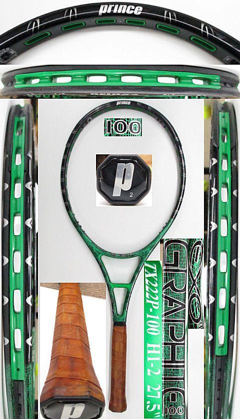 【中古 テニスラケット】P0700 プリンス EXO3グラファイト100 【プロストック】