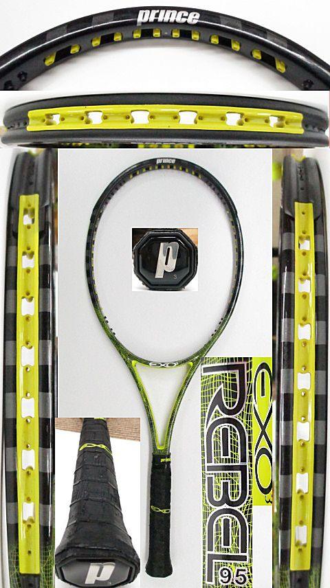 【中古 テニスラケット】P0701 プリンス EXO3レベル95