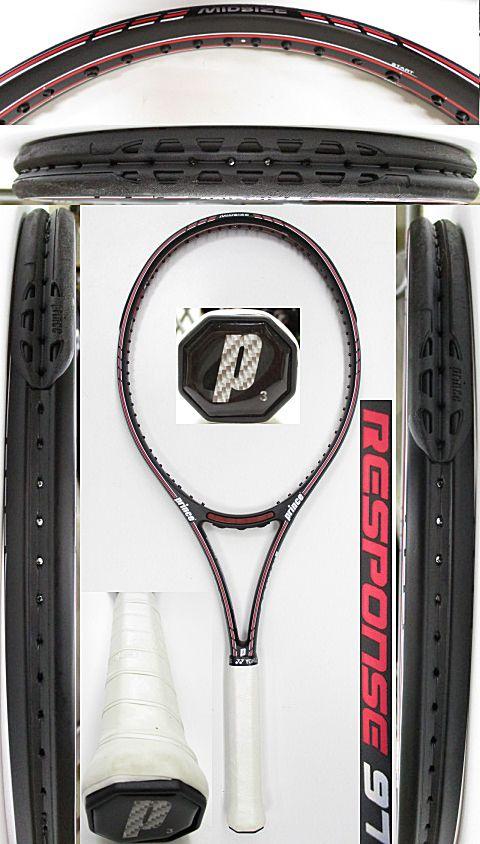 【中古 テニスラケット】P0706 プリンス クラシックレスポンス97