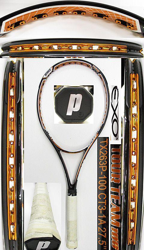 【中古 テニスラケット】P0711 プリンス EXO3ツアーチーム100 プロストック