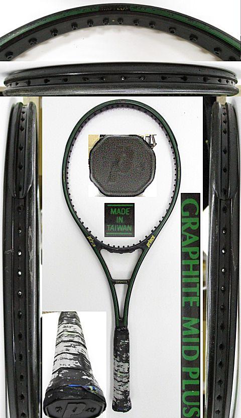 【中古 テニスラケット】P0712 プリンス グラファイト ミッドプラス