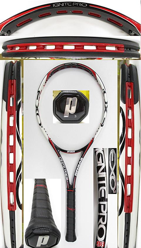 【中古 テニスラケット】P0717 プリンス イグナイトプロ98