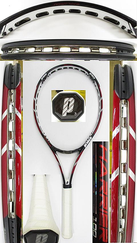 【中古 テニスラケット】P0719 プリンス ハリアー100