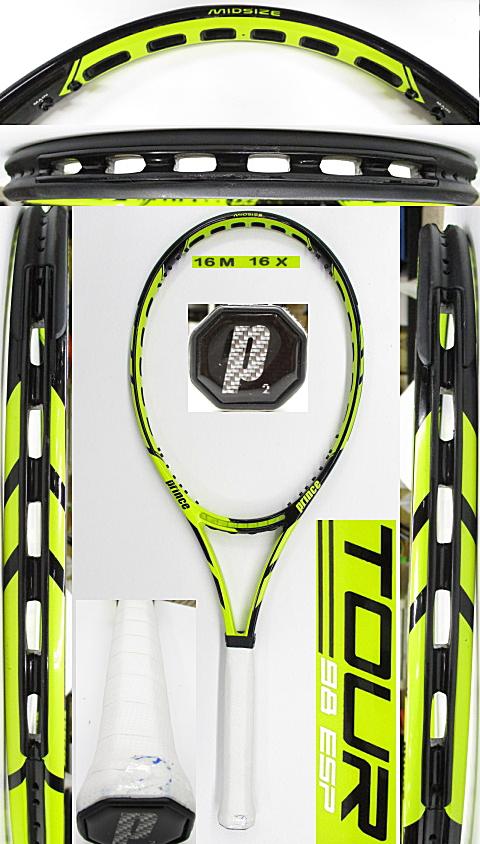 【中古 テニスラケット】P0720 プリンス ツアー98ESP
