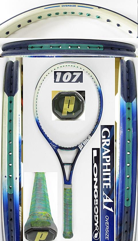 【中古 テニスラケット】P0724 プリンス グラファイトA1 オーバーサイズ