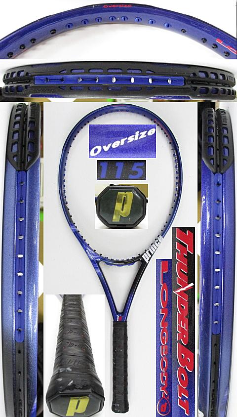 【中古 テニスラケット】P0728 プリンス サンダーボルト オーバーサイズ