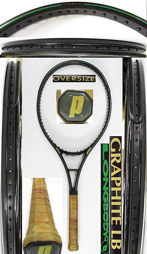 【中古 テニスラケット】P0732 プリンス グラファイトLB オーバーサイズ
