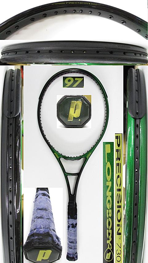 【中古 テニスラケット】P0734 プリンス プレシジョン730