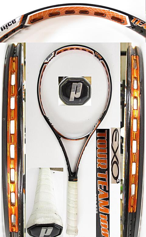 【中古 テニスラケット】P0741 プリンス EXO3ツアーチーム100