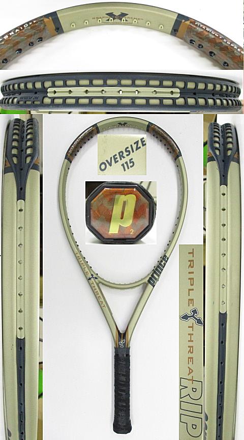 【中古 テニスラケット】P0746 プリンス TT RIP オーバーサイズ