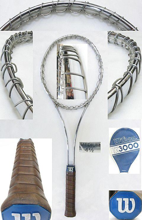 【中古 テニスラケット】VI-0003 ウイルソン TX-3000
