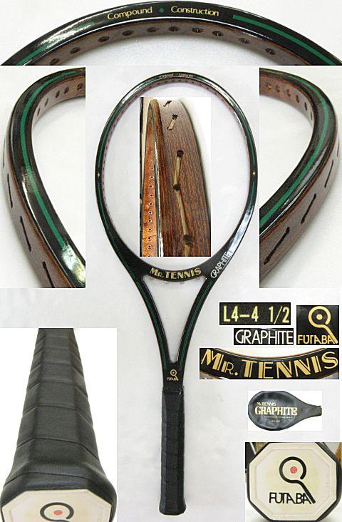 【中古 テニスラケット】VI-0009 フタバ ミスターテニス グラファイト