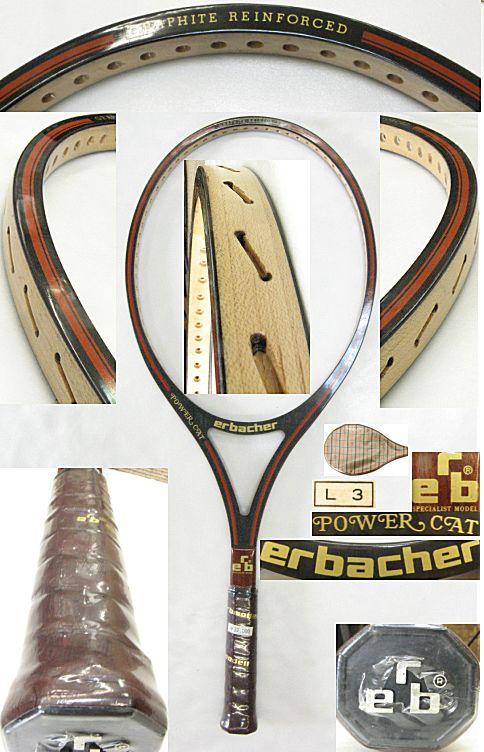 【中古 テニスラケット】VI-0011 erbacher POWER CAT
