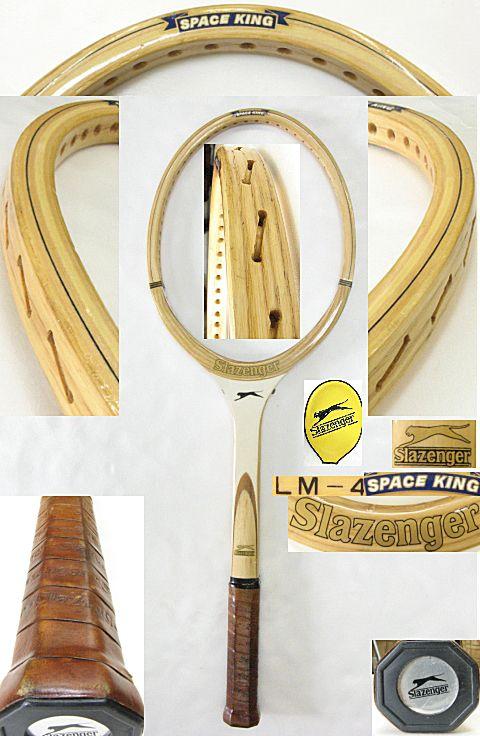 【中古 テニスラケット】VI-0012 スラセンジャー スペースキング