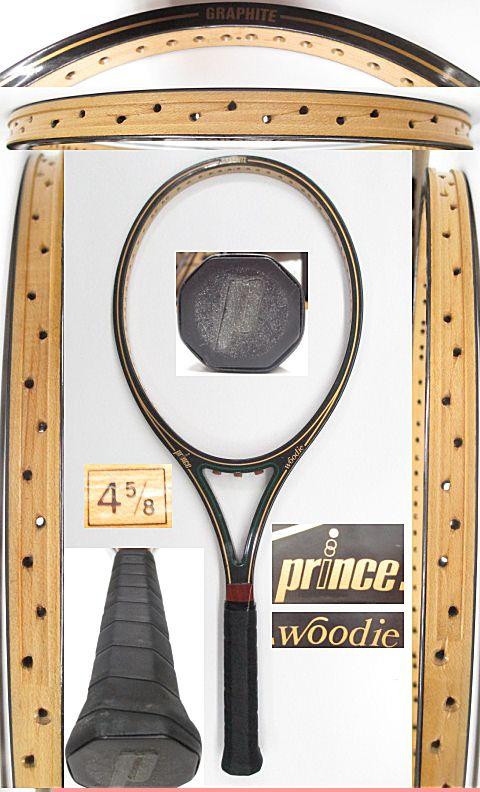 【中古 テニスラケット】VI-0024 プリンス ウッディ