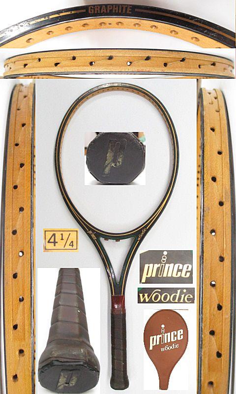 【中古 テニスラケット】VI-0030 プリンス ウッディ