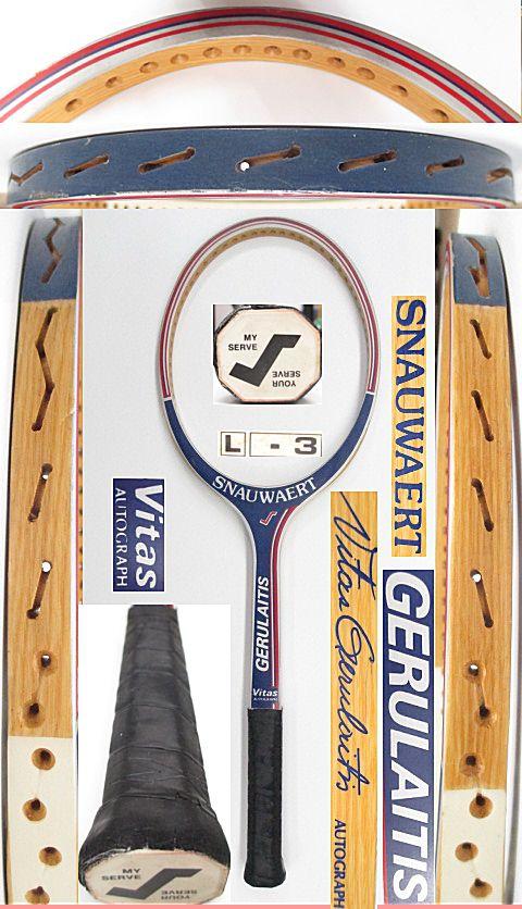 【中古 テニスラケット】VI-0033 スノワート ビタスゲルライテス オートグラフ