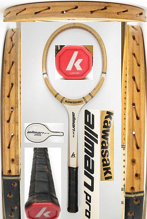 【中古 テニスラケット】VI-0038 カワサキ オールマンプロ