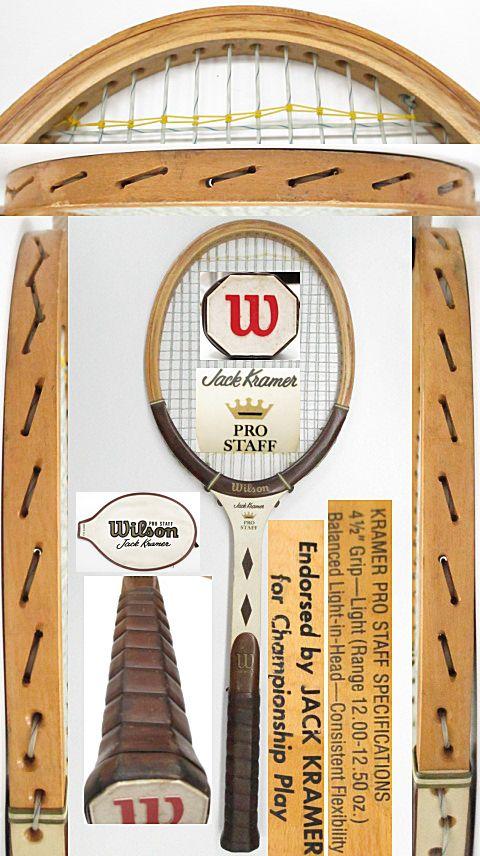 【中古 テニスラケット】VI-0045 ウイルソン プロスタッフ ジャッククレーマー