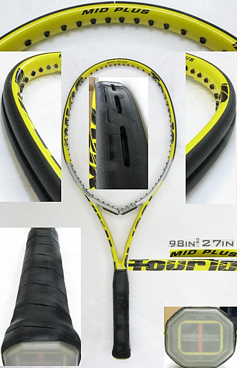 【中古テニスラケット】フォルクル ツアー10 ミッドプラス Vエンジン TOUR 10 MIDPLUS V-ENGINE