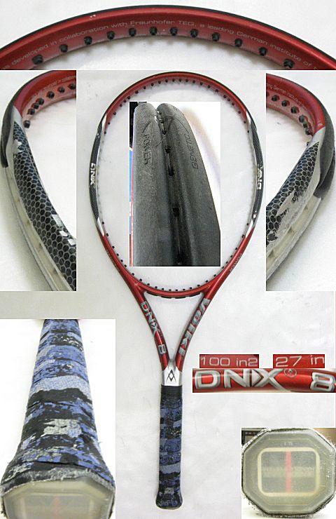 【中古テニスラケット】フォルクル DNX8 DNX8
