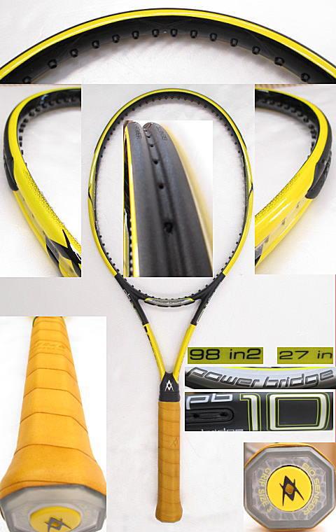 【中古 テニスラケット】VO-0227 フォルクル パワーブリッジ10