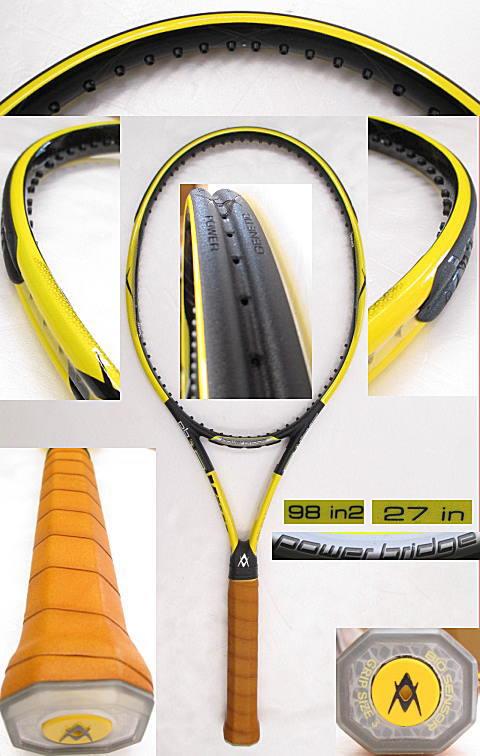 【中古 テニスラケット】VO-0228 フォルクル パワーブリッジ10