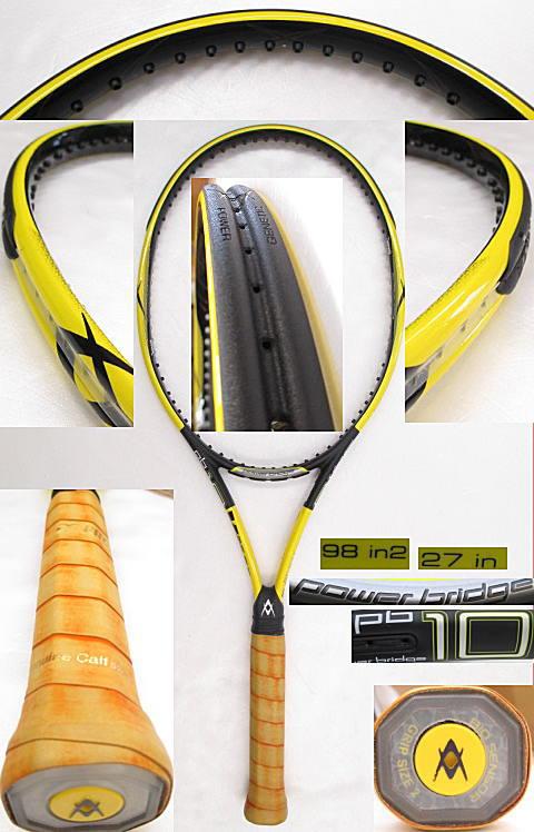 【中古 テニスラケット】VO-0229 フォルクル パワーブリッジ10