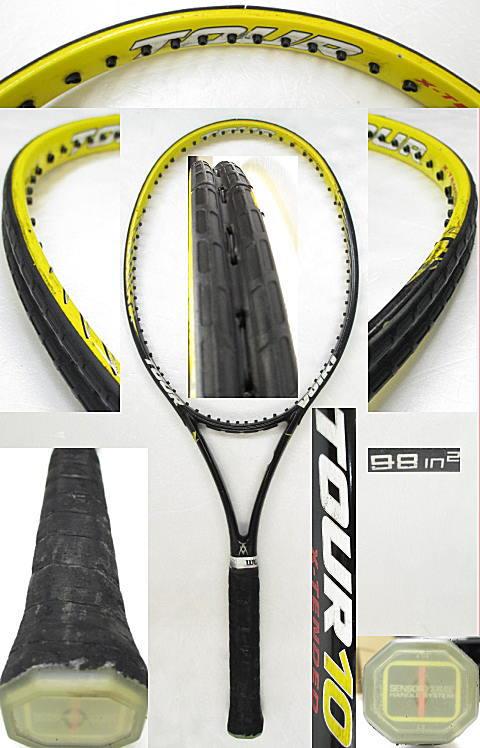【中古 テニスラケット】VO-0230 フォルクル ツアー10 エクステンディッド