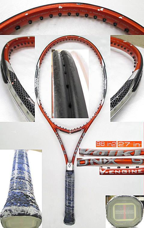 【中古 テニスラケット】VO-0231 フォルクル ツアー10 エクステンディッド