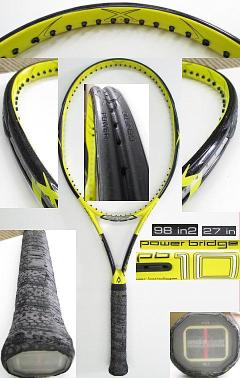【中古 テニスラケット】VO-0235 フォルクル パワーブリッジ10