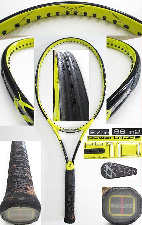【中古 テニスラケット】VO-0236 フォルクル パワーブリッジ10