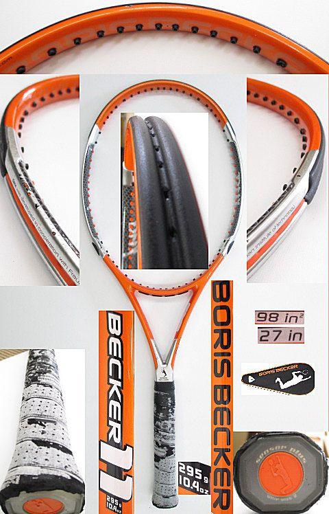 【中古 テニスラケット】VO-0237 ボリスベッカー ベッカー11/295g