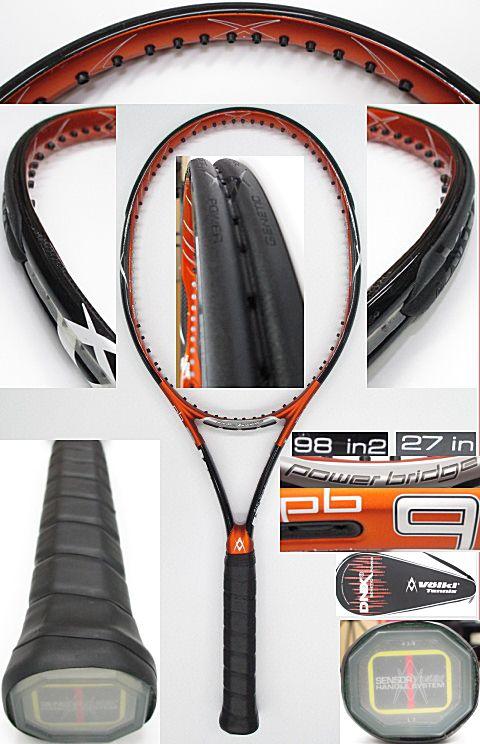 【中古 テニスラケット】VO-0238 フォルクル パワーブリッジ9