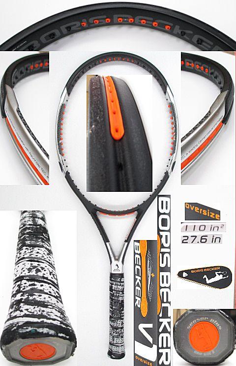 【中古 テニスラケット】VO-0239 ボリスベッカー ベッカーV1 オーバーサイズ