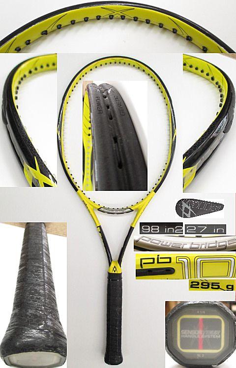 【中古 テニスラケット】VO-0242 フォルクル パワーブリッジ10
