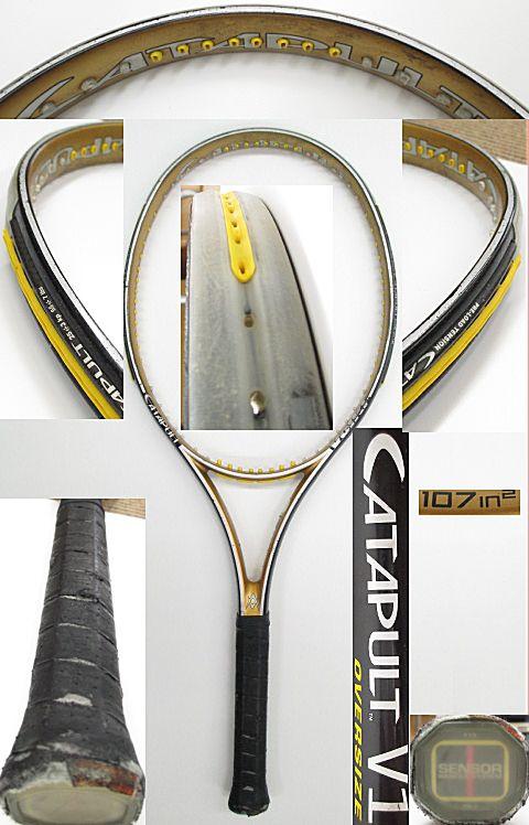【中古 テニスラケット】VO-0244 フォルクル カタパルトV1/OS