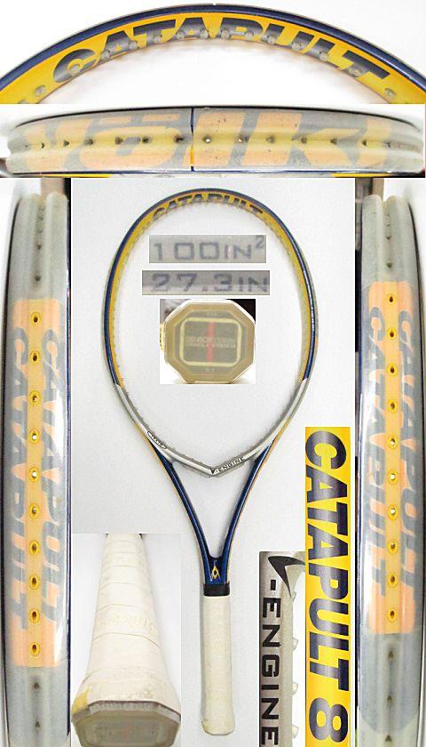 【中古 テニスラケット】VO-0258 フォルクル カタパルト8 V-エンジン