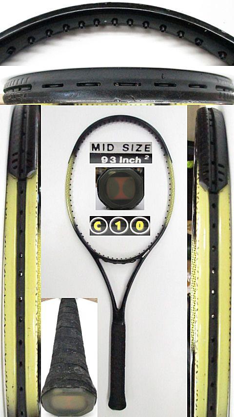 【中古 テニスラケット】VO-0266 フォルクル C10 comp series MID SIZE