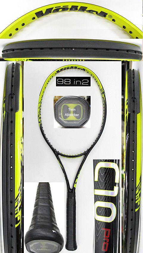 【中古 テニスラケット】VO-0267 フォルクル C10PRO