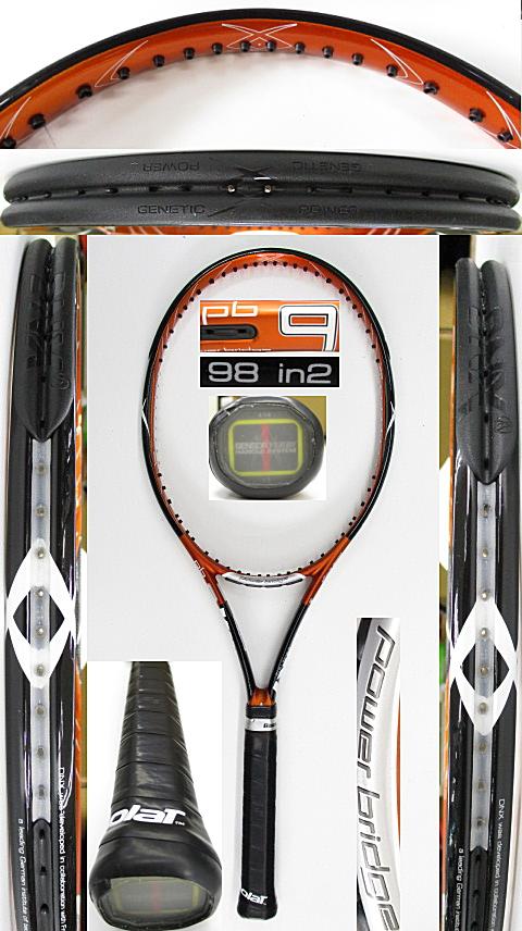 【中古 テニスラケット】VO-0268 フォルクル パワーブリッジ9