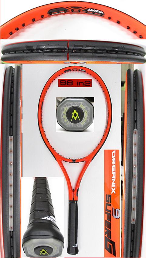 【中古 テニスラケット】VO-0270 フォルクル オーガニクス9 スーパーG