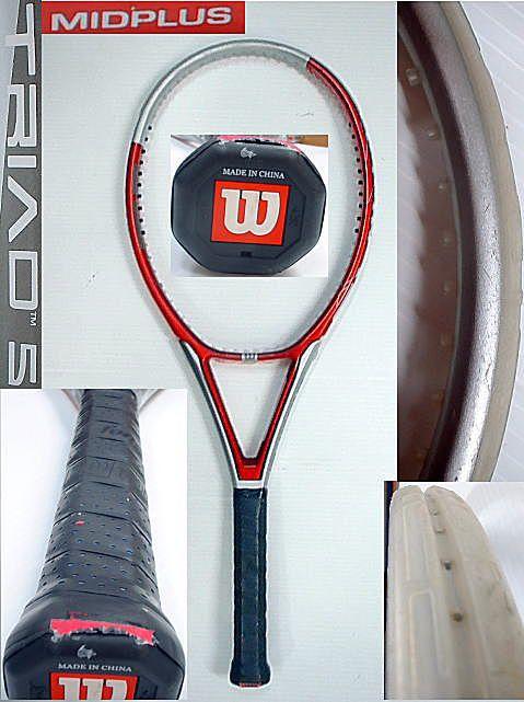 【中古テニスラケット】ウイルソン トライアド5 ミッドプラス TRIAD5 MIDPLUS