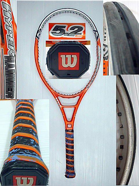 【中古テニスラケット】ウイルソン ハイパーハンマー5.2 OS HYPERHAMMER5.2 OS